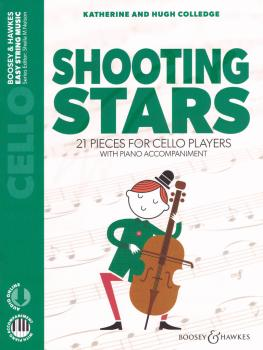 Shooting Stars: 21 Pieces for Cello Players Cello and Piano (HL-48024553)