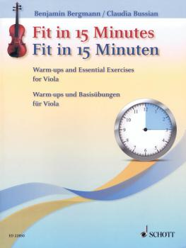 Fit in 15 Minutes: Warm-ups and Essential Exercises for Viola (HL-49046109)
