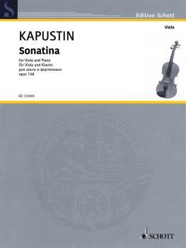 Sonatina Op. 158 (Viola and Piano) (HL-49046116)