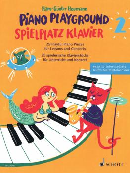 Piano Playground, Book 2: 25 Playful Piano Pieces for Lessons and Conc (HL-49046119)