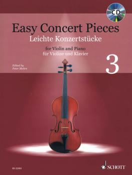 Easy Concert Pieces: 16 Famous Pieces from 4 Centuries Violin and Pian (HL-49046138)