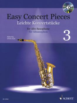 Easy Concert Pieces Book 3: 17 Pieces from 6 Centuries Alto Saxophone  (HL-49046142)