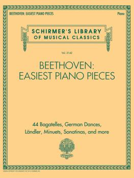 Beethoven: Easiest Piano Pieces: Schirmer's Library of Musical Classic (HL-50601560)