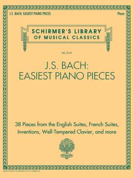 J.S. Bach: Easiest Piano Pieces: Schirmer's Library of Musical Classic (HL-50601602)