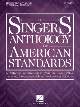 The Singer's Anthology of American Standards (Soprano Edition) (HL-00238674)