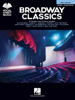 Broadway Classics - Men's Edition (Vocal Sheet Music) (HL-00256666)