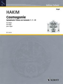 Cosmogonie: Symphonic Fresco on Genesis 1:1-31 Organ (HL-49046189)