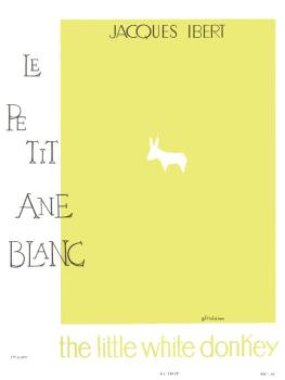 Le Petit Ane Blanc: [The Little White Donkey] for Flute and Piano (HL-48180548)