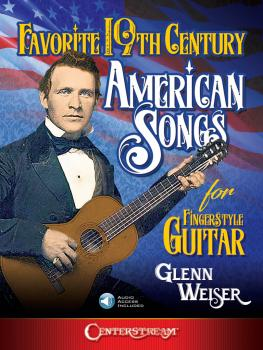Favorite 19th Century American Songs for Fingerstyle Guitar (HL-00291915)