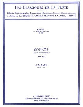 Sonata BWV1013 in A Minor - Classiques No. 18 (for Flute) (HL-48180916)