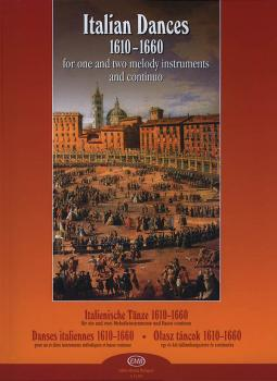 Italian Dances 1610-1661 for One & Two Melody Instruments: Flute, Reco (HL-50510249)