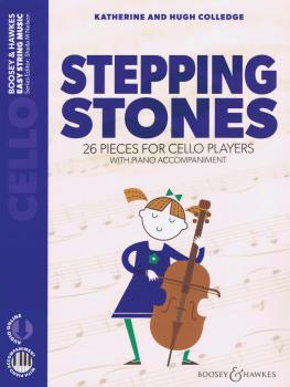 Stepping Stones: 26 Pieces for Cello Players Cello and Piano (HL-48024578)