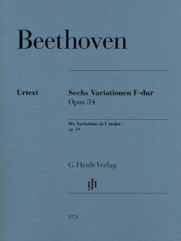 Six Variations in F Major Op. 34 (Piano Solo) (HL-51481373)