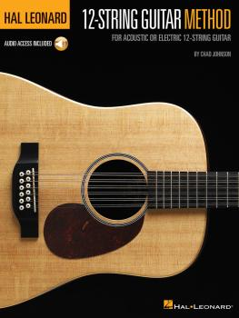 Hal Leonard 12-String Guitar Method (For Acoustic or Electric 12-Strin (HL-00249528)