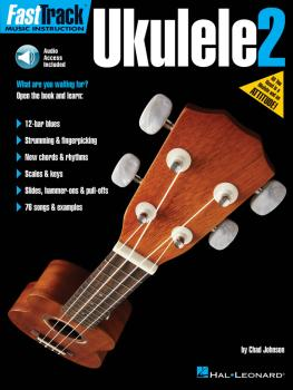 FastTrack Ukulele Method - Book 2 (HL-00275508)