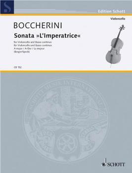 Sonata in A Major L'imperatrice: Cello and Basso Continuo (HL-49001519)