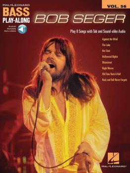 Bob Seger: Bass Play-Along Volume 56 (HL-00275503)