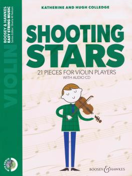 Shooting Stars: 21 Piece for Violin Players Book/Audio CD (HL-48024643)