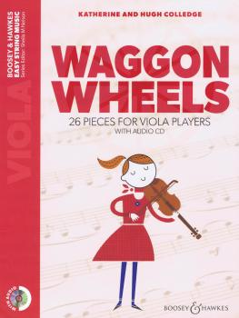 Waggon Wheels: 26 Pieces for Viola Players Book/CD (HL-48024681)
