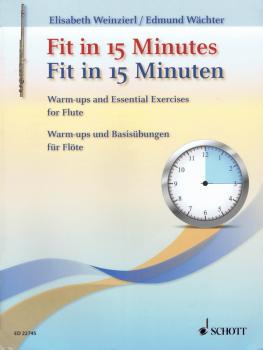Fit in 15 Minutes: Flute Warm Ups and Basic Exercises (HL-49046233)