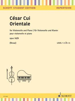 Orientale Op. 50/9 (Cello and Piano) (HL-49046241)