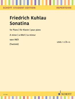 Sonatina In A Minor (Op. 88/3 Piano) (HL-49046242)