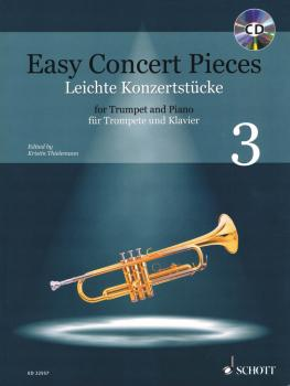 Easy Concert Pieces: 22 Pieces from 5 Centuries Trumpet and Piano (HL-49046251)
