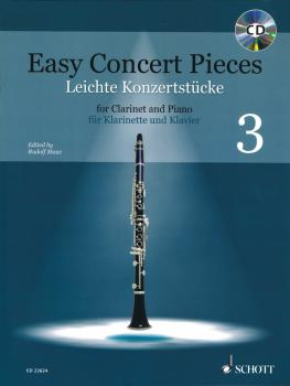Easy Concert Pieces: 14 Pieces from 4 Centuries Clarinet and Piano Boo (HL-49046252)