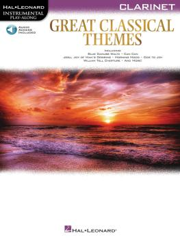 Great Classical Themes (Clarinet) (HL-00292728)