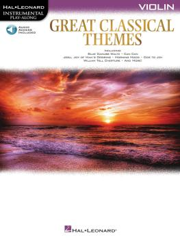 Great Classical Themes (Violin) (HL-00292736)