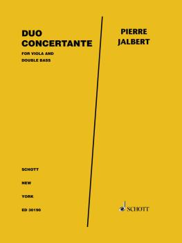 Duo Concertante for Viola and Double Bass - Two Performance Scores (HL-49046217)