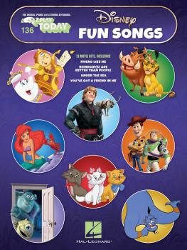 Disney Fun Songs: E-Z Play Today Volume 136 (HL-00291475)