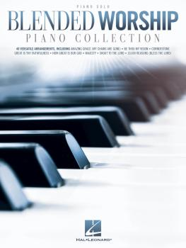 Blended Worship Piano Collection (HL-00293528)