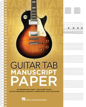 Guitar Tab Manuscript Paper (HL-00293547)