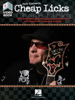 Rick Nielsen's Cheap Licks: Basic Rock Licks, Riffs, Soloing Ideas, an (HL-00285413)