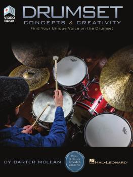 Drumset Concepts & Creativity: Find Your Unique Voice on the Drumset (HL-00286278)