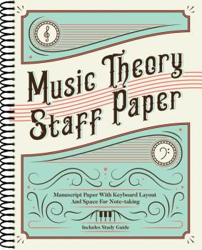 Music Theory Staff Paper: Manuscript Paper with Keyboard Layout and Sp (HL-00287856)