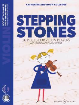 Stepping Stones: 26 Pieces for Violin Players Violin and Piano (HL-48024579)