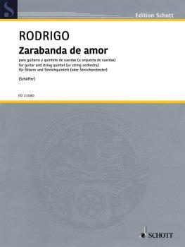 Zarabanda De Amor: from the Ballet Pavana Real (1955): String Quintet  (HL-49046238)