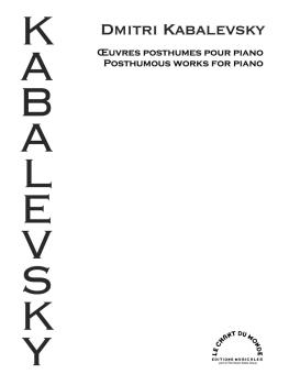 Posthumous Works for Piano (HL-00295696)