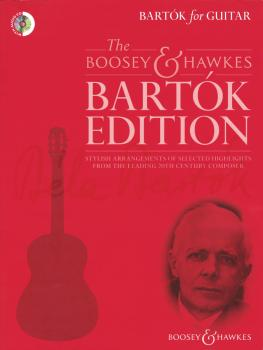 Bartok For Guitar (Book and CD) (HL-48024758)