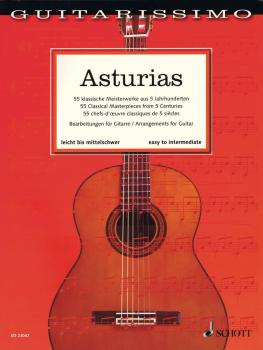 Asturias: 55 Classical Masterpieces from 5 Centuries Guitar (HL-49046255)