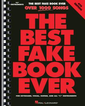 The Best Fake Book Ever - 4th Edition (C Edition) (HL-00290239)