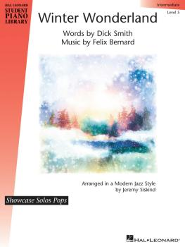 Winter Wonderland: Hal Leonard Student Piano Library Showcase Solos Po (HL-00298195)