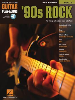 '90s Rock - 2nd Edition: Guitar Play-Along Volume 6 (HL-00298615)