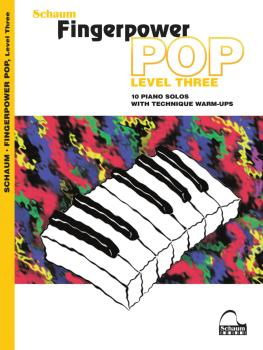 Fingerpower Pop - Level 3: 10 Piano Solos with Technique Warm-Ups (HL-00282866)