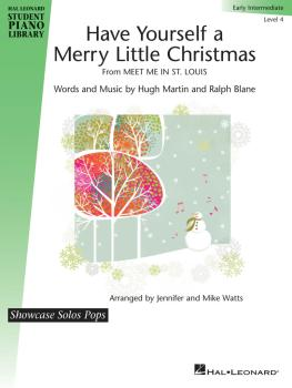 Have Yourself a Merry Little Christmas: HLSPL Showcase Solos Pops Earl (HL-00299434)