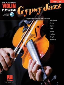 Gypsy Jazz: Violin Play-Along Volume 80 (HL-00293922)