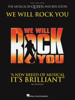 We Will Rock You: The Musical by Queen and Ben Elton (HL-00119131)