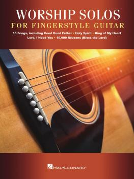 Worship Solos for Fingerstyle Guitar (HL-00276831)